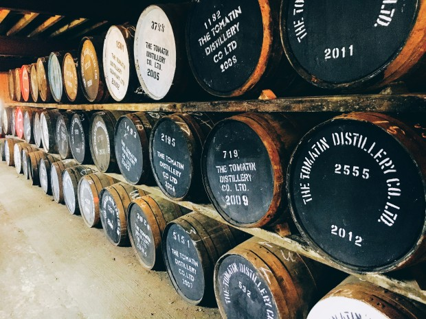 Tomatin Distillery Scotland
